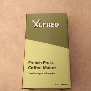 Alfred French press coffee maker